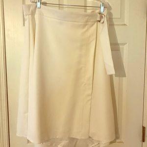 Gorgeous Long Tall Sally Mock Wrap D-ring Skirt